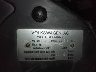 Engine Volkswagen 068.5 - 3