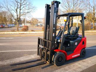Four wheel counterbalanced forklift Hangcha XF18D - 1