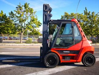 Four wheel counterbalanced forklift Fenwick H70D - 2