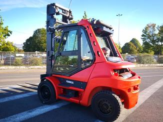 Four wheel counterbalanced forklift Fenwick H70D - 4