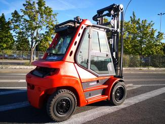 Four wheel counterbalanced forklift Fenwick H70D - 5
