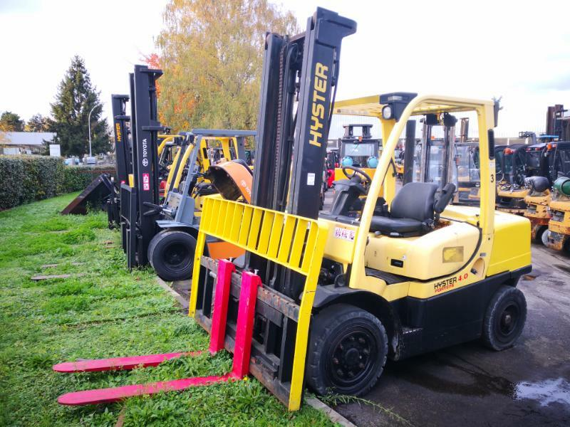 Four wheel front forklift Hyster H4.00FT5 - 1