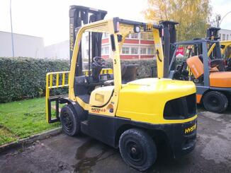Four wheel front forklift Hyster H4.00FT5 - 2