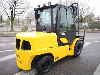 Four wheel counterbalanced forklift Yale GDP55VX - 4