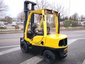 Four wheel counterbalanced forklift Hyster H3.00FT - 2