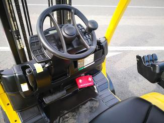 Four wheel counterbalanced forklift Hyster H3.00FT - 7