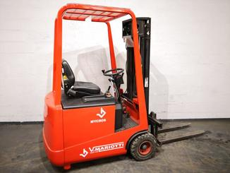 Three wheel counterbalanced forklift Mariotti MYCROS 15 - 5