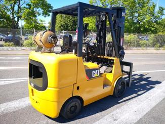 Four wheel counterbalanced forklift Caterpillar GC40K - 5
