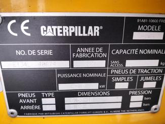Four wheel counterbalanced forklift Caterpillar GP18N - 10