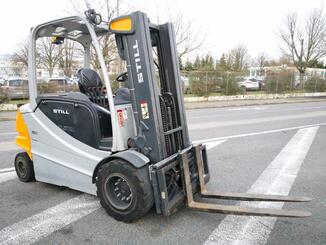 Four wheel front forklift STILL RX60-45  - 1