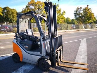 Four wheel counterbalanced forklift STILL RX70-16 - 2