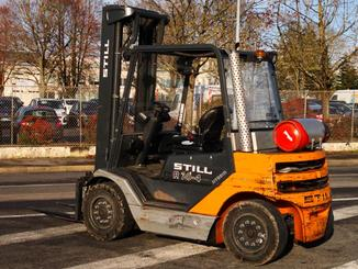 Four wheel counterbalanced forklift STILL R70-40T - 4