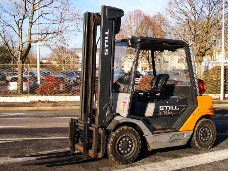 Four wheel counterbalanced forklift STILL R70-40T - 1