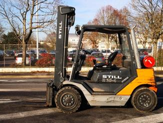 Four wheel counterbalanced forklift STILL R70-40T - 2