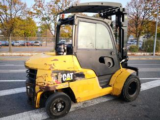 Four wheel counterbalanced forklift Caterpillar DP45N - 13