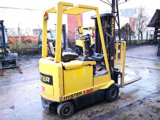 Four wheel counterbalanced forklift Hyster E1.50XM - 2