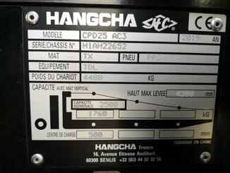 Four wheel counterbalanced forklift Hangcha A4W25 - 11