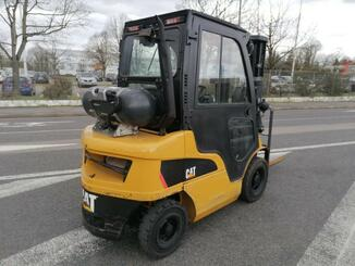 Four wheel front forklift Caterpillar GP25N2 - 5