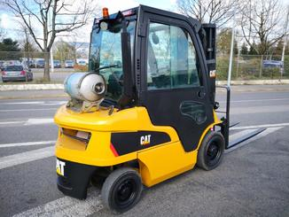 Four wheel front forklift Caterpillar GP25N2 - 4