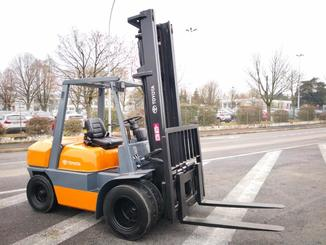 Four wheel counterbalanced forklift Toyota 02-6FD35 - 1