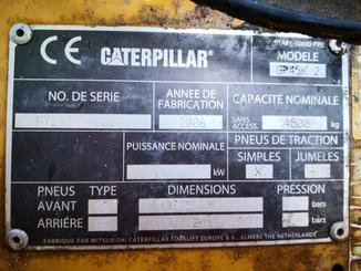 Four wheel front forklift Caterpillar GP45K - 6