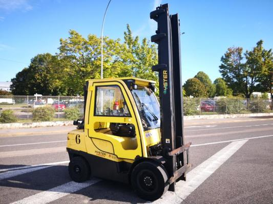 Four wheel front forklift Hyster H3.5FT - 1