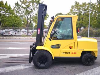 Four wheel front forklift Hyster H5.50XM - 2