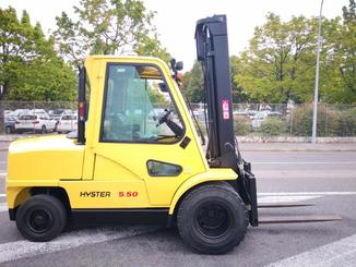 Four wheel front forklift Hyster H5.50XM - 3