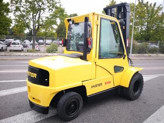 Four wheel front forklift Hyster H5.50XM - 4