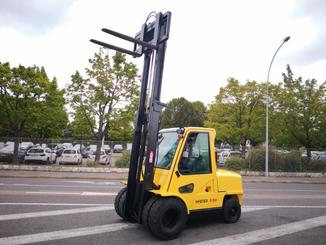 Four wheel front forklift Hyster H5.50XM - 5