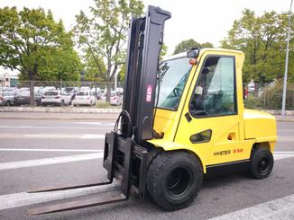 Four wheel front forklift Hyster H5.50XM - 1