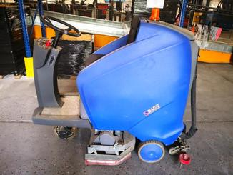 Walk-behind scrubber dryer Dulevo H610RO - 2