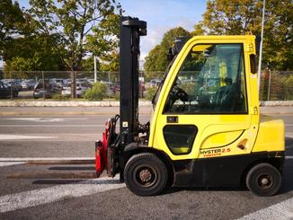 Four wheel front forklift Hyster H2.5FT - 1