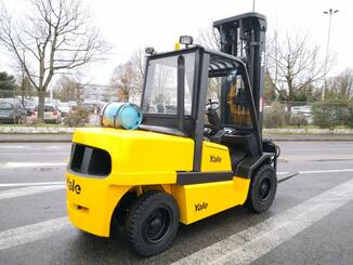 Four wheel front forklift Yale GLP55MJ - 5