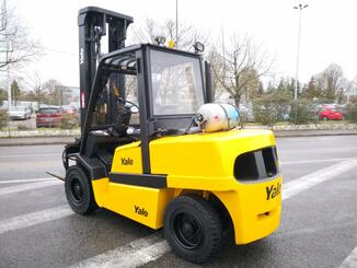 Four wheel front forklift Yale GLP55MJ - 4