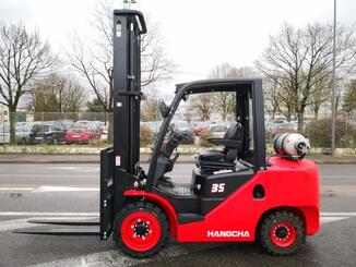 Four wheel front forklift Hangcha XF35G - 1