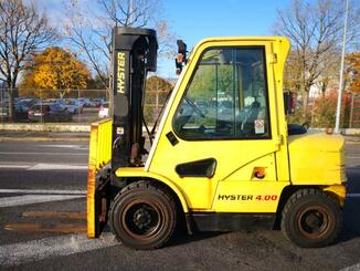 Four wheel front forklift Hyster H4.00XM - 2