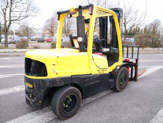 Four wheel front forklift Hyster H4.5FT - 6