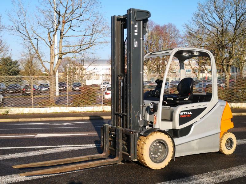 Four wheel counterbalanced forklift STILL RX60-50 - 1