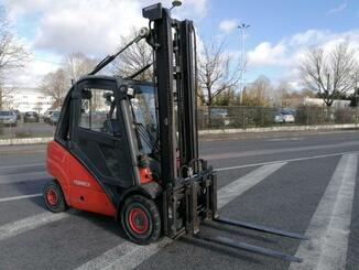 Four wheel front forklift Fenwick H30D - 1