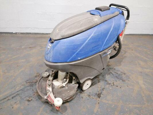 Walk-behind scrubber dryer Dulevo H555 - 1