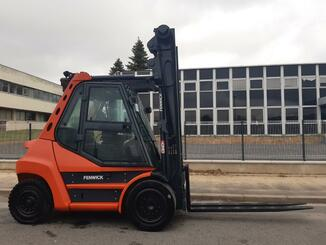 Four wheel counterbalanced forklift Fenwick H70D - 9