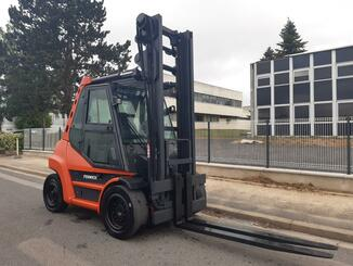 Four wheel counterbalanced forklift Fenwick H70D - 8