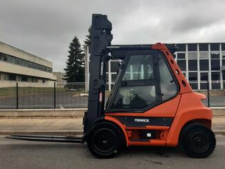 Four wheel counterbalanced forklift Fenwick H70D - 1