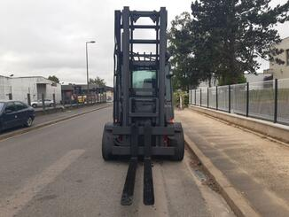 Four wheel counterbalanced forklift Fenwick H70D - 11