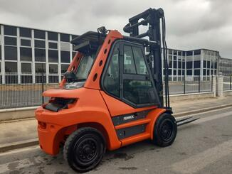 Four wheel counterbalanced forklift Fenwick H70D - 10