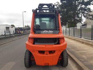 Four wheel counterbalanced forklift Fenwick H70D - 3