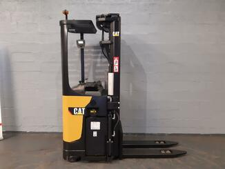 Pallet stacker with rider platform Caterpillar NSR20N - 1