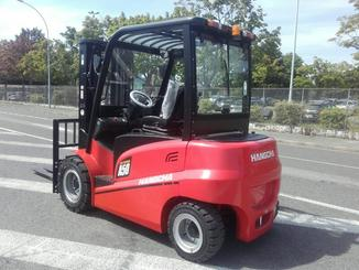 Four wheel front forklift Hangcha A4W50-E - 12