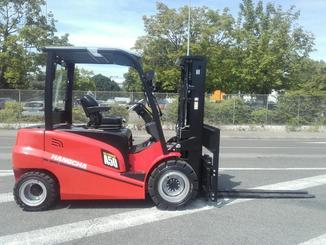 Four wheel front forklift Hangcha A4W50-E - 1